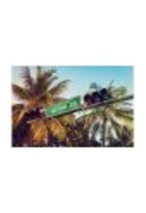 Painel Adesivo De Parede - Placa - Ocean Drive - 1746Pnm