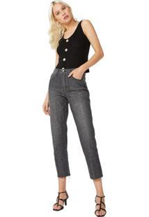 Calça Jeans Slim Barra Fio
