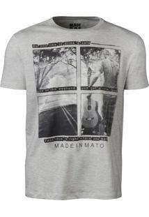 Camiseta Made In Mato – Mescla Claro