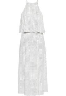 Vestido clara le lis blanc