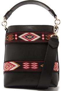Bucket Bag Ethnic Black   Schutz