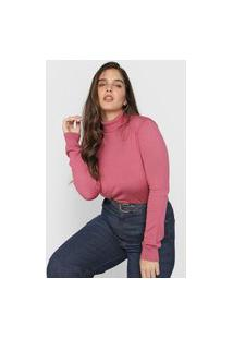Blusa Calvin Klein Jeans Lisa Rosa