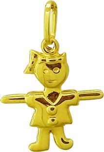 Pingente Ouro 18K Menina Vj7540