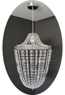 Lustre Pendente Cristal Acrílico 36X150 Lina Design Ac77 - Kanui