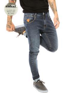 Calça Jeans Colcci Extreme Skinny Justin Azul