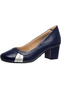 Scarpin Feminino Doctor Shoes 279 Azul