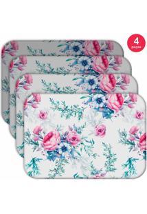 Jogo Americano Love Decor Wevans Floral Premium Kit Com 4 Pã§S - Multicolorido - Dafiti