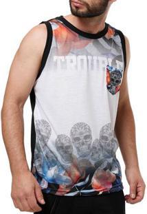 Camiseta Regata Masculina Federal Art Preto