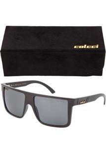Óculos De Sol Colcci Quadrado Preto