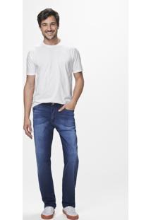 Calça Jeans Tradicional Cintura Média Malwee