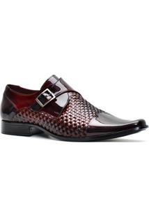 Sapato Pro Mais Masculino 601Co - Masculino-Vinho
