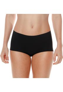 Calcinha Shortinho Preto Make - 406.028 Marcyn Lingerie Boy Short Preto