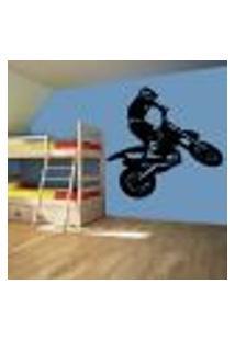 Adesivo De Parede Esportes Motocross - Eg 92X98Cm