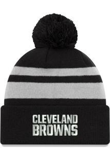 78f0e351fa251 ... Gorro Touca Cleveland Browns Black Cuffed - New Era - Unissex