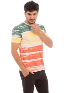 Camiseta Aes 1975 Striped Masculina - Masculino