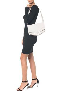 Bolsa Pocket Bag Couro Grande - Branco - U