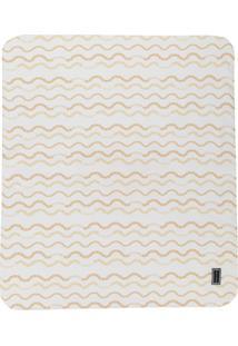 Young Versace Cobertor Estampado - Branco