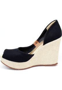 Sandália Barth Shoes Noite Preta