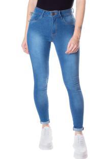 Calça Skinny Feminina One Jeans Azul - 36