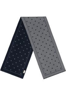 Gucci Cachecol De Lã Com Abelhas E Estrelas - Cinza