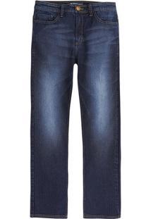 Calça Jeans Masculina Modelo Tradicional Com Lavação Moderna