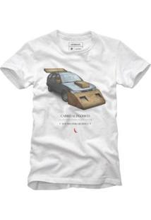 Camiseta Reserva Carro Alegórico Masculina - Masculino-Branco