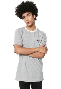 Camiseta Dc Shoes List Off-White