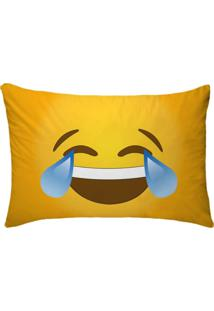 Fronha Para Travesseiros Nerderia E Lojaria Emoticon Whatsapp Risada Colorido