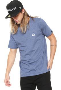 Camiseta Quiksilver Big Second Azul