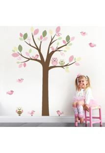 Adesivo De Parede Balihai Stickers 160X137 Belle Rosa Claro