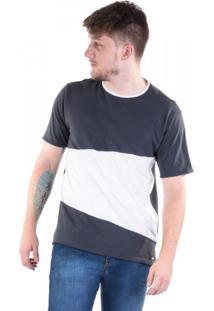 Camiseta Duas Cores Mont Blanc