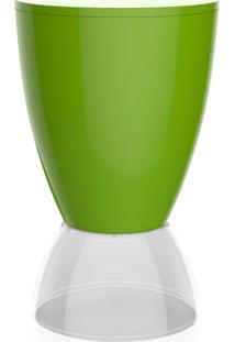 Banco | Banqueta Argo Polipropileno Verde E Cristal I'M In