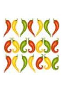 Adesivo Decorativo De Cozinha - Pimentas - 204Cz-M