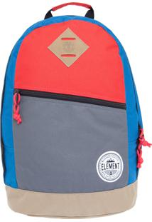 Mochila Element Camden 20L Cobalt Multicolorida