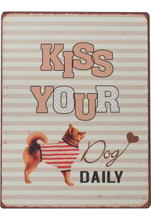 Placa Decorativa Dog Daily