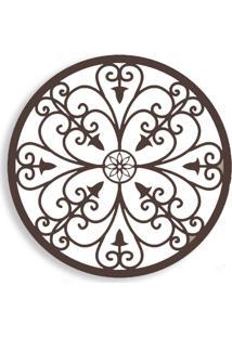 Quadro Escultura Decorativa Arvore Bege 92786 Art Shop