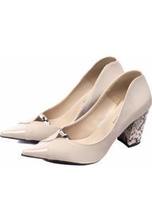 Sapato Scarpin Torricella Bege