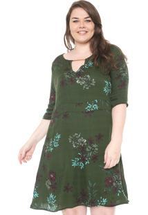 3dcbf4ee04f4 Vestido Cativa Verde feminino   Shoelover