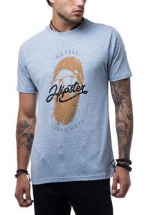 Camiseta Ukkan Hipster Mescla Medio