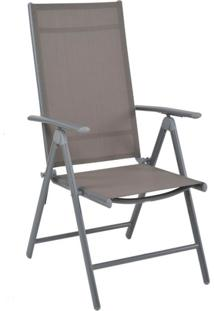 Cadeira De Jardim Tramandai Cinza