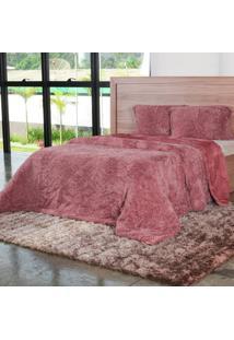 Cobertor King Slim Peles Com Porta Travesseiro Cameo - Tessi