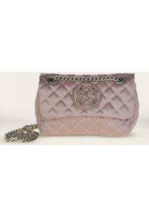 Bolsa Shoulder Bag Capodarte Vitello 4601866 - Feminino-Rosa