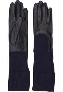 Gala Gloves Par De Luvas Em Tricô - Azul