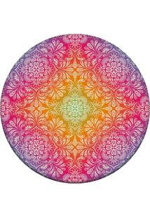 Tapete Love Decor Redondo Wevans Divine Rosa 84Cm