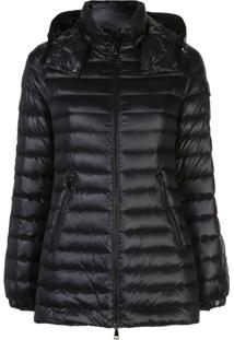 Moncler Hooded Padded Jacket - Preto