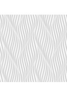 Papel De Parede Lyam Decor Espiral Cinza