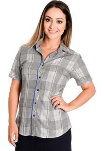Camisa Pimenta Rosada Xadrez Elis