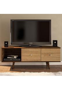 Rack Para Tv Modelo Osasco 2 Gavetas 170204 Imbuia/Argel Ff - Politorno