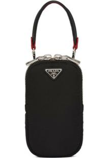 Prada Clutch Tessuto Pocket - Preto