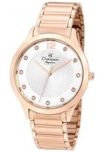 Relógio Feminino Champion Analógico Elegance Cn25903Z - Feminino-Rose Gold